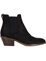Rag And Bone Rag And Bone Western Style Ankle Boots Black