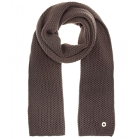 Loro Piana Rougemont Cashmere Scarf Brown Grey