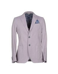 Manuel Ritz Suits And Jackets Blazers Men Lilac