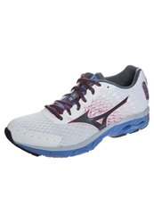 Mizuno Wave Inspire 11 Stabilty Running Shoes White Turbulence Rouge Red
