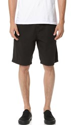 Stussy Mountain Solid Shorts Black