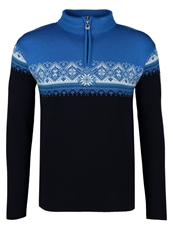 Dale Of Norway St. Moritz Jumper Navy Sochi Blue Cobalt Off White
