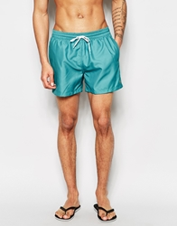 Farah Monroe Stripe Swim Shorts Green
