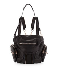 Marti Mini Leather Backpack Black Alexander Wang