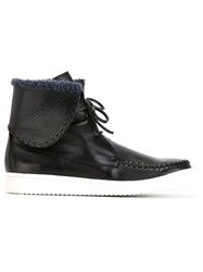 Thakoon Addition Moccasin Sneakers Black