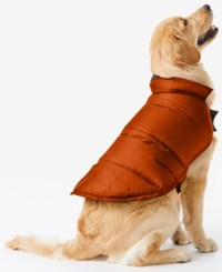 32 Degrees Reversible Down Puffer Coat For Dogs Red Maple
