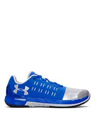 Under Armour Ua Charged Core Running Sneakers Ultra Blue Metallic Silver