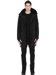 11 By Boris Bidjan Saberi Padded Canvas Parka