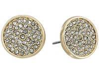 Karen Kane Starry Disc Stud Earrings Gold Earring