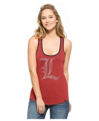 '47 Brand Women's Louisville Cardinals Clutch Tank Top Red