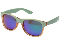 Vans Spicoli 4 Shades Translucent Peach Pink Yucca Fashion Sunglasses Green