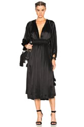 Apiece Apart Willa Dress In Black
