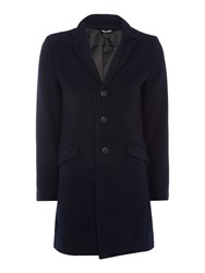 Only And Sons Trench Coat Navy
