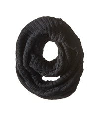 Michael Michael Kors Hand Knit Large Infinity Scarf Black Scarves