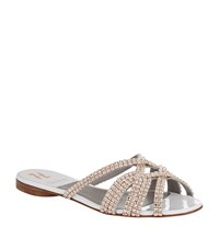 Gina Olson Jewelled Sandal Female Yellow