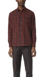 Katin Mac Flannel Shirt Temple Red