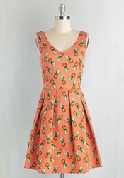 Amazing In Ananas Dress Mod Retro Vintage Dresses Modcloth.Com