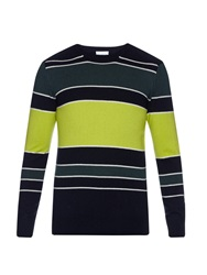 Raey Striped Crew Neck Cashmere Sweater
