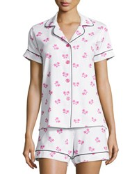 Bedhead Butterfly Print Short Pajama Set Painted Butterfly