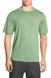 Men's Ibex 'All Day Weightless Wool Blend' T Shirt Billiard Green