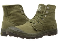 Palladium Pallabrouse Dark Olive Dark Gum Men's Lace Up Boots