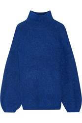 By Malene Birger Balero Knitted Turtleneck Sweater Royal Blue