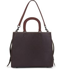 Coach Rogue Glovetanned Pebble Leather 36 Satchel Bp Oxblood