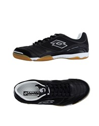 Lotto Footwear Low Tops And Trainers Men Black