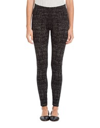 Nic Zoe Textured Elastisized Leggings Powder Mix