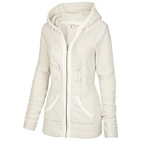 Fat Face Stanford Hooded Fleece Ivory