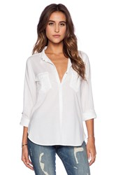 Candc California Two Pocket Shirt White