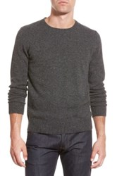 Bonobos Merino Wool Crewneck Sweater Gray