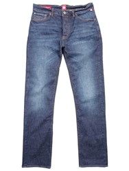 Pretty Green Burnage Straight Fit Rinse Washed Jeans Denim