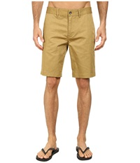 Reef Auto Redial 4 Walkshorts Brown Men's Shorts