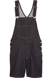 Givenchy Overalls In Dark Blue Stretch Denim Dark Denim