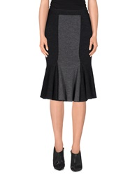 Gaetano Navarra Knee Length Skirts Steel Grey