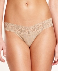 Maidenform One Size Lace Thong 40118 Body Beige