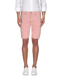 Heavy Project Trousers Bermuda Shorts Men Red