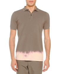 Tomas Maier Bleached Bottom Polo Taupe Brown