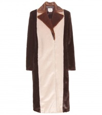 Edun Faux Fur Coat Brown