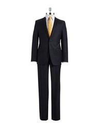 Dkny Two Piece Wool Pants Suit Grey