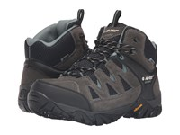 Hi Tec Sonorous Mid Ii I Waterproof Gull Grey Black Goblin Men's Shoes Brown
