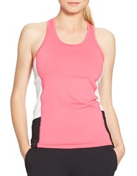 Lauren Ralph Lauren Colorblock Stretch Tank Pink