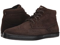 Armani Jeans Wingtip Boot Brown Men's Boots