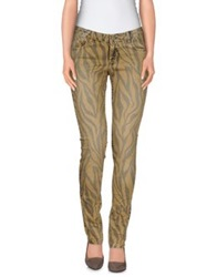 Gold Case Denim Pants Khaki