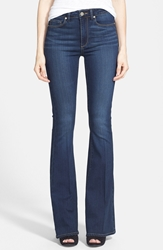 Paige 'Canyon' High Rise Bell Bottom Jeans Nottingham