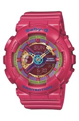 Women's Baby G Round Ana Digi Watch 43Mm