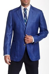 Kroon Blue Two Button Notch Lapel Sport Coat