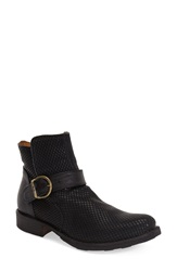 Fiorentini Baker Textured Ankle Bootie Women Black Leather