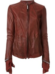 Isaac Sellam Experience Zip Jacket Red